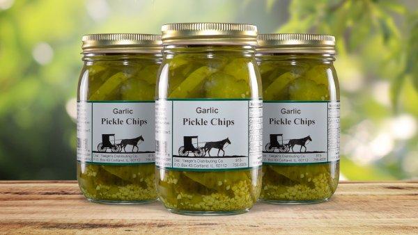 Garlic Pickle Chips
