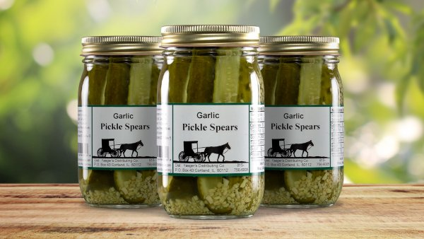 Garlic Pickle Spears