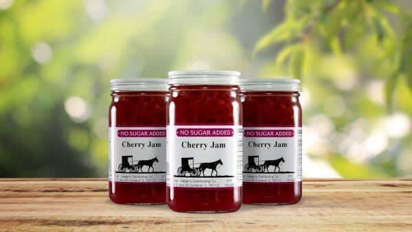 No Sugar Added Cherry Jam