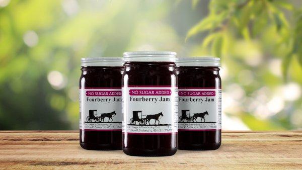 No Sugar Added Fourberry Jam